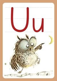 Bogstavet U og Ugle