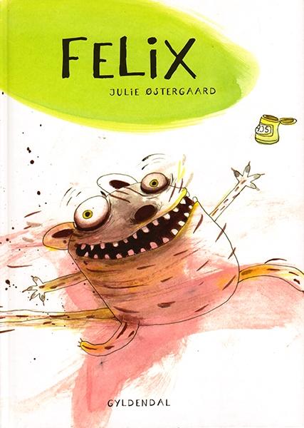 Børnebogen Felix Omslag